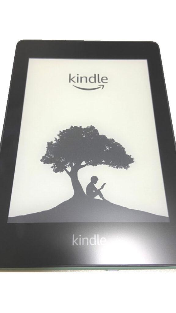 Kindle Paperwhite 電源ボタン 起動 スタート画面